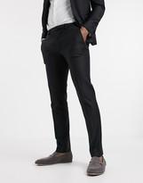 Asos Design DESIGN wedding skinny suit pants in black 100% wool