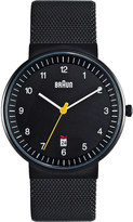 Braun BN0032BKBKMHG stainless steel watch