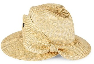Raffaello Bettini Sewn Straw Braided Fedora