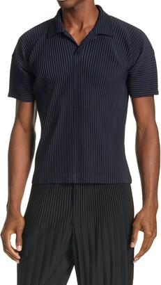 Homme Plissé Issey Miyake Pleated Short Sleeve Shirt