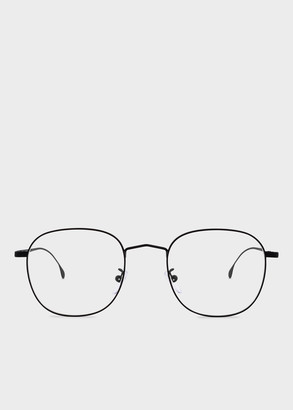 Paul Smith Matte Black 'Arnold' Spectacles