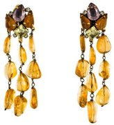 Iradj Moini Multistone Clip-On Earrings
