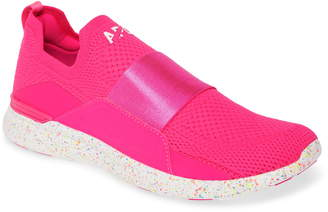 APL Athletic Propulsion Labs TechLoom Bliss Neon Knit Running Shoe