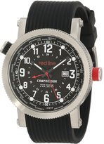 Redline red line Men's RL-18003-01 Compressor World Time Dial Silicone Watch
