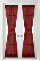 Royal Velvet Plaza Thermal Interlined Rod-Pocket Door Panel