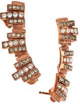 Ca&Lou Lou Lou Lobo Earrings, Rose Gold Plate