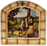 Certified International Tuscan View Arched Serving Platter