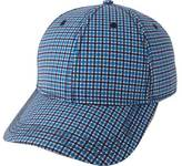Ben Sherman Men's Sublimation Print Gingham Baseball Cap