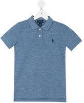 Ralph Lauren embroidered logo polo shirt - kids - Cotton - 6 yrs
