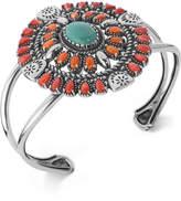 American West Multi-Stone Cuff Bracelet (12-1/4 ct. t.w.) in Sterling Silver