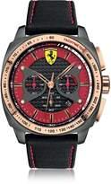 Ferrari Aero Evo Stainless Steel Case and Black Nylon Strap Men's Watch