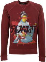 DSQUARED2 Geisha Print Sweatshirt
