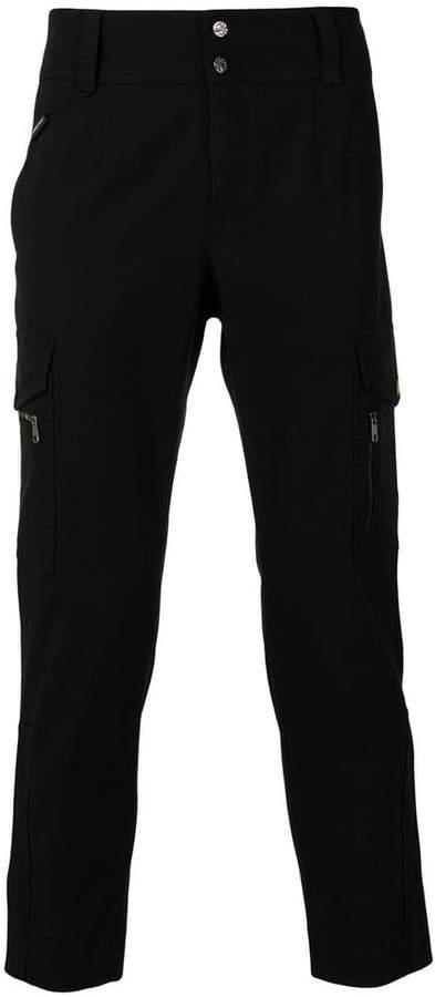 Dolce & Gabbana multi-pocket straight leg trousers
