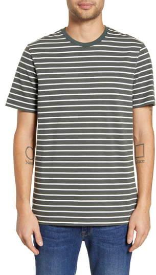 Wings + Horns Stripe T-Shirt