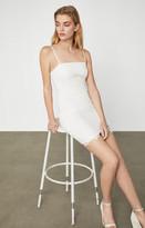 BCBGMAXAZRIA Lace Applique Mini Dress
