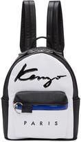 Kenzo White Logo Essentials Backpack