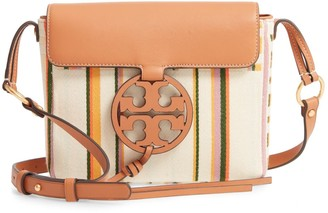 Tory Burch Miller Stripe Crossbody Bag