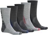 Head Contrast Heel Toe Crew Socks - 6-Pack (For Men)