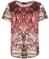 Etro Paisley-printed cotton T-shirt