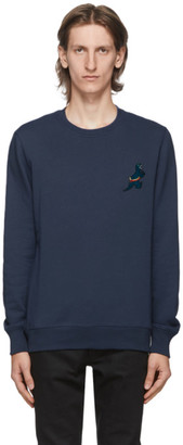 Paul Smith Blue Dino Sweatshirt