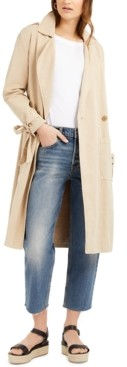 Lucky Brand Margo Soft Trench Coat