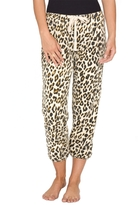 Amuse Society Vacation Mode Leopard Sweatpant