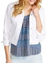 Jessica Simpson Solid Long Sleeve Pixie Jacket
