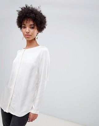 Finery Waley lace back blouse