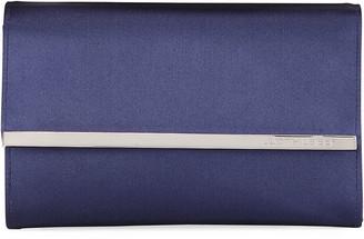 Judith Leiber Couture Quinn Satin Chain-Strap Clutch Bag
