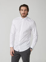 Frank + Oak The Andover Stretch Dress Shirt in White