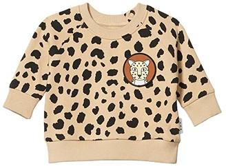 HUXBABY Animal Spot Sweatshirt (Infant/Toddler) (Sand) Girl's Clothing