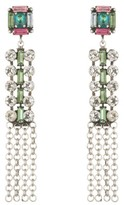 Dannijo Women's Akili Crystal Drop Earrings