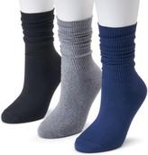 Women's SONOMA Goods for Life 3-pk. Soft & Comfortable Slouchy Boyfriend Socks