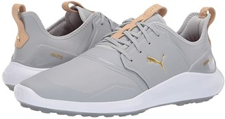 Puma Ignite Nxt Pro (Black/Team Gold/White) Men's Golf Shoes