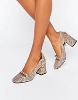 Asos SUNDANCE Glitter Heels
