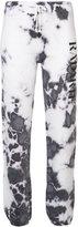 Rodarte tie dye print sweatpants - women - Cotton/Polyester - S