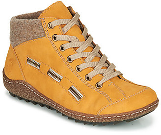 Rieker L7543-69 women's Mid Boots in Yellow