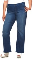 JLO by Jennifer Lopez Plus Size Curvy Fit Bootcut Jeans