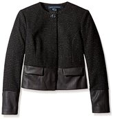 French Connection Women's Cosmic Tweed Blazer