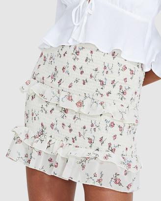 Alice In The Eve Maria Wild Rose Smocked Skirt