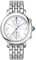 Boucheron Stainless Steel and Sapphire Epure Classic Creation Watch 43mm