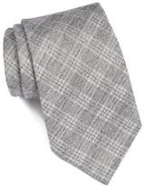 John Varvatos Men's Plaid Cotton & Silk Tie