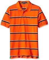 U.S. Polo Assn. Men's Classic Fit Striped Pique Shirt