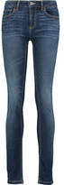 Marc by Marc Jacobs Lou Mid-Rise Faded Skinny Jeans