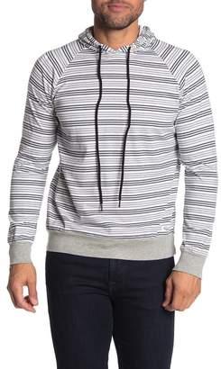Kinetix Malta Striped Pullover Jersey Hoodie