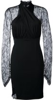 Philipp Plein lace panel dress