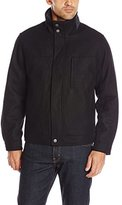 London Fog Men's Alder Wool Hipster with Contract Color Bib