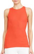 Lauren Ralph Lauren Stretch Cotton Slim-Fit Tank Top
