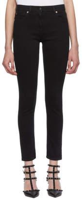 Valentino Black VLTN Stretch Jeans