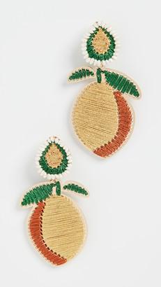 Mercedes Salazar Peach Earrings